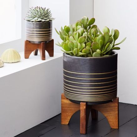 mid-century-turned-leg-tabletop-planters-black-gold-c