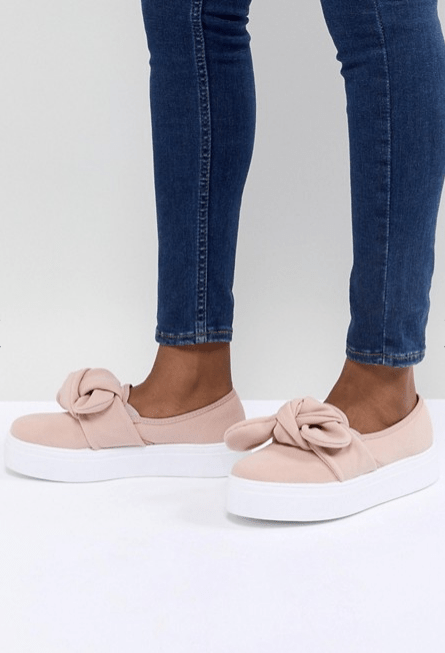 Screenshot-2018-3-20 ASOS DESIGN Denise Bow Sneakers at asos com