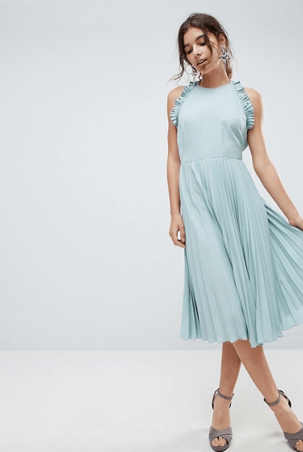 Screenshot-2018-3-20 ASOS Pleated Midi Dress With Ruffle Open Back at asos com