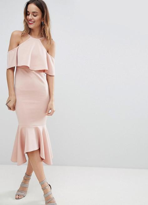 Screenshot-2018-3-20 ASOS Ruffle Cold Shoulder Asymmetric Pephem Midi Dress at asos com