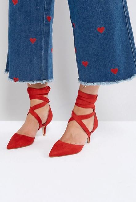 Screenshot-2018-3-20 RAID Tanisha Red Kitten Heel Ankle Tie Shoes at asos com